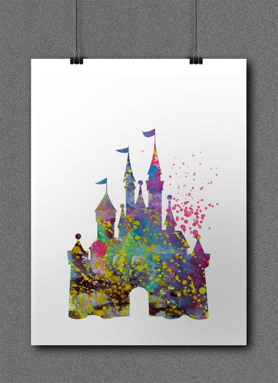 Disney Cinderella Castle Princess Suite by SchioStudio360 on Etsy