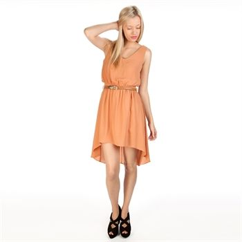 chance or fate juniors blouson dress with feather belt