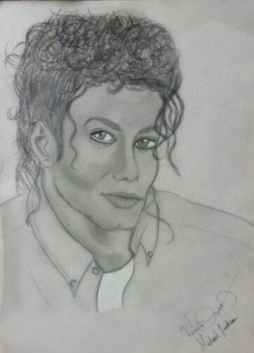 Michael Jackson a lapiz