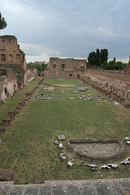What was once Circus Maximus.  Rome, ITALY.    (by Samuraijohnny, via Flickr)