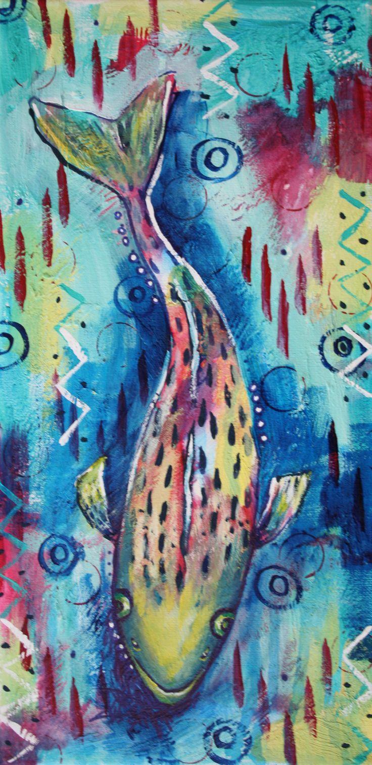 Pickerel Fish by Veronica Funk