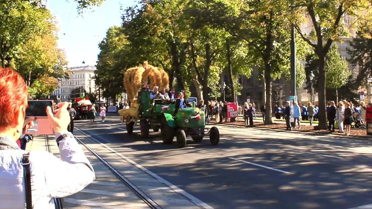 Праздник урожая в Вене