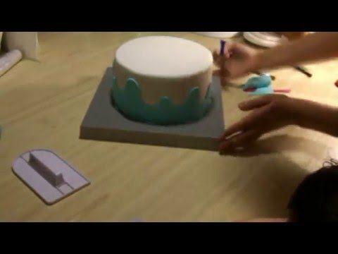 Как оформить детский торт своими руками [7] Я - ТОРТодел! - YouTube