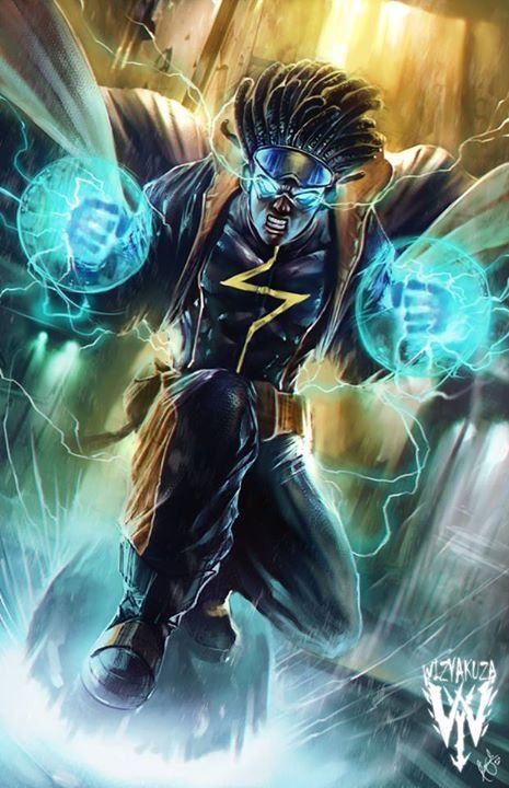 Static Shock by @wizyakuza.