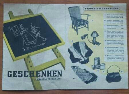 Sinterklaas folder V&D Jr. 50
