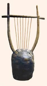 Apollos now sacred instrument made by hermes