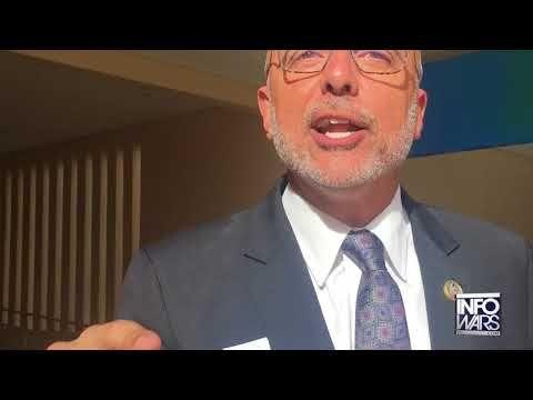 Infowars confronts lying anti-gun Florida congressman Alex Jones 2/19/18