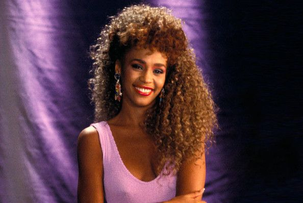whitney houston i wanna dance with somebody outfit - Google Search