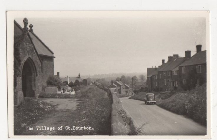 The Village of Great Bourton RP Postcard #2, B285 | eBay