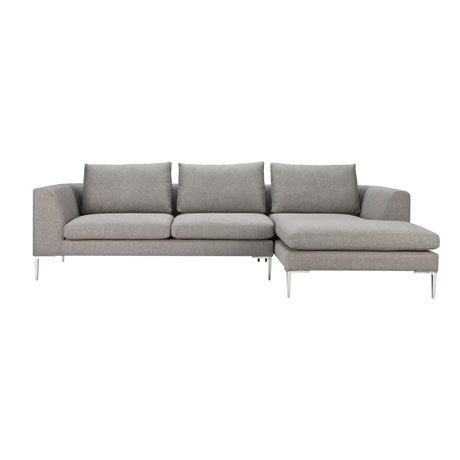Hilton Modular 2.5 Seat Left Hand & Chaise Right Hand | Freedom Furniture and Homewares