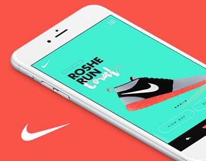 """다음 @Behance 프로젝트 확인: """"Nike - Roshe Run App"""" https://www.behance.net/gallery/23771253/Nike-Roshe-Run-App"""