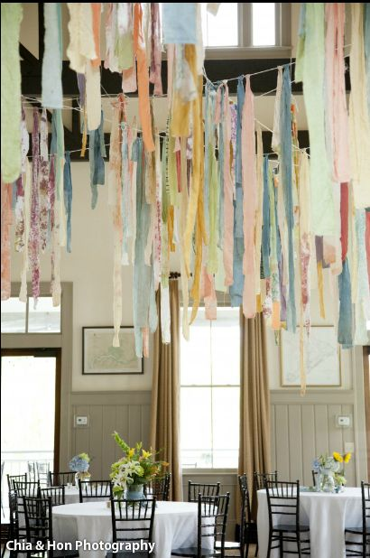 hand dyed wedding | domestic-construction.com: Dyed Streamers, Projects, Fine Events, Wedding, Dyed Fabrics, Hands Dyed, Domestic Construction Com, Events Style, Sweet Life