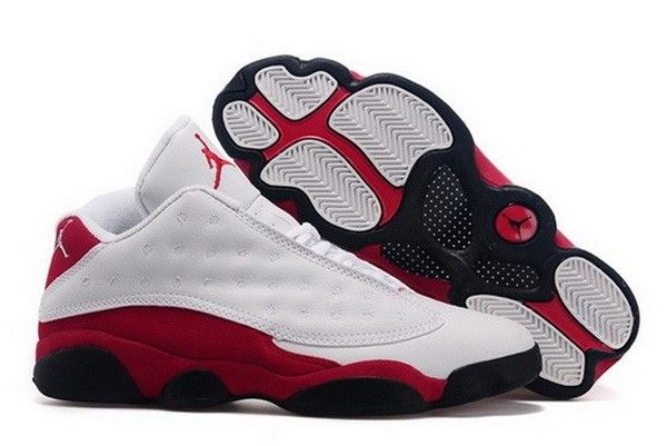 155c619f736133 How To Buy Air Jordan 13 Low Chicago White Black Red
