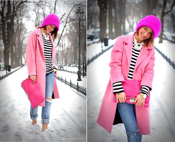 Pink with stripes. Розовая зебра. - Galant-Girl Ellena
