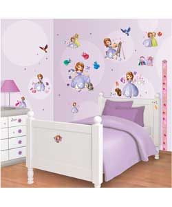 Buy Walltastic Disney Sofia The First Room Decor Kit at Argos.co.uk, visit Argos.co.uk to shop online for Home improvements, Wallpaper, samples, borders and wall stickers