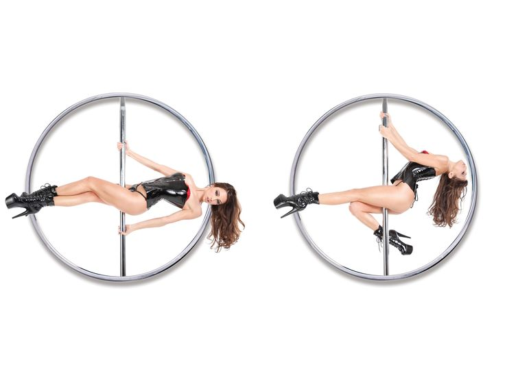 Take it all of like a professional with this at home dance pole that's a  snap