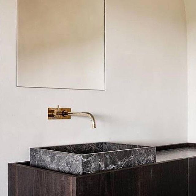 Wash Wash by yours truly. Picture by @cafeine #interior #interiordesign #benoitviaene #benoit_viaene #simplicity #rawmaterial #bathroom @bmbouwkunst @odilon_creations @aardig_gedacht @decolust