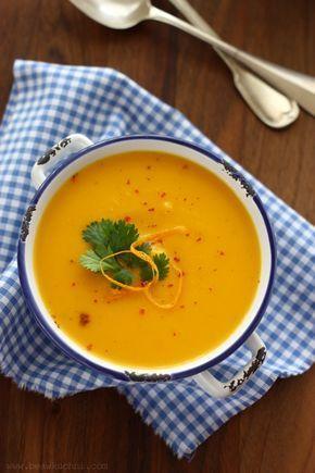 Zupa dyniowa z nutą pomarańczyi