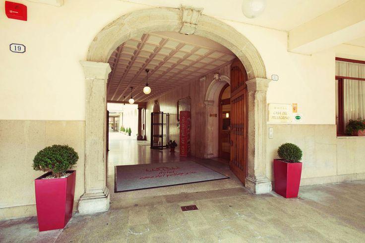 Ingresso Hotel Casa del Pellegrino
