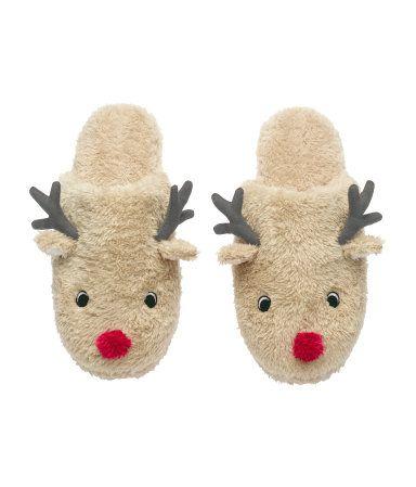 Reindeer slippers!!!!!!!: