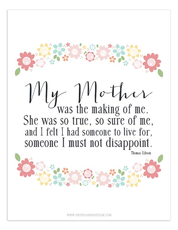 Free Printable quote for Mothers day. Ehefrau mutter, Mutter