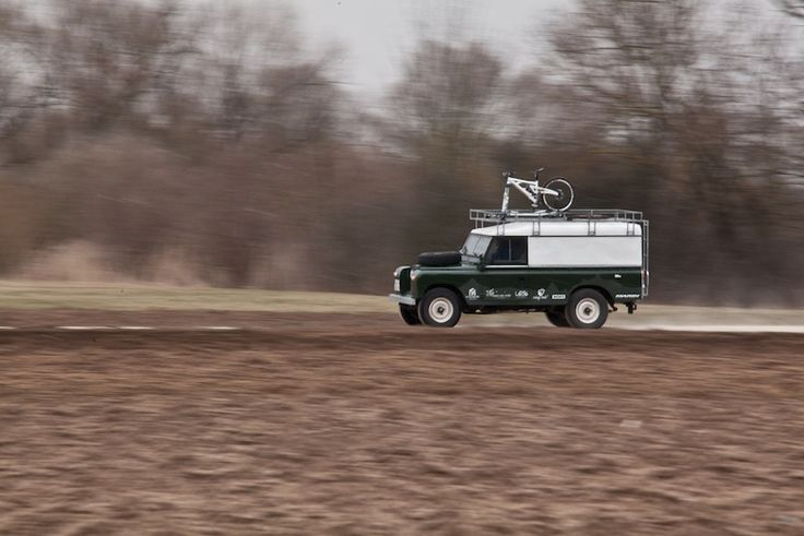 Julia Hofmann converted her Series 2A Land Rover into the ultimate road trip vehicle for mountain bikers.