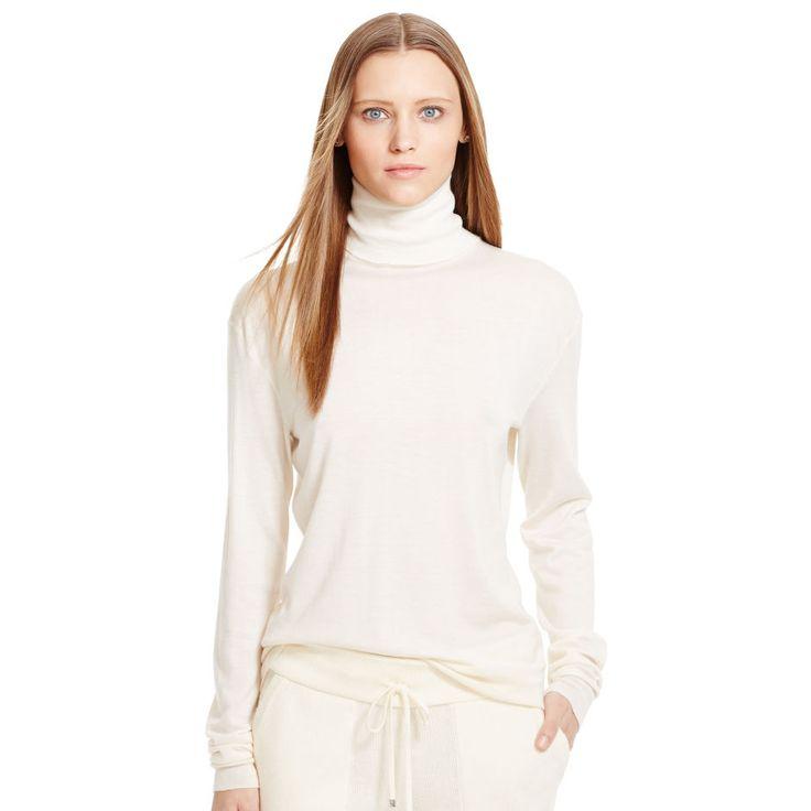 Cashmere-Silk Turtleneck - Turtle & Mocknecks  Sweaters - RalphLauren.com
