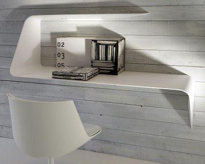 Marvelous Etagère Suspendue Mamba De MDF Italia. Shelf Desk ... Good Ideas