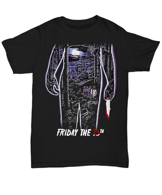 Friday the 13th Horror Movie Classics Vintage Shocker Splatter