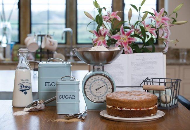 inspiracje w moim mieszkaniu: Akcesoria kuchenne w stylu vintage Kitchen Craft L...