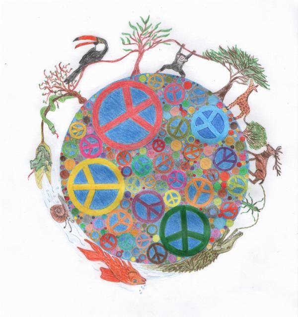 14 Best Un Art For Peace Contest Images On Pinterest Peace Peace