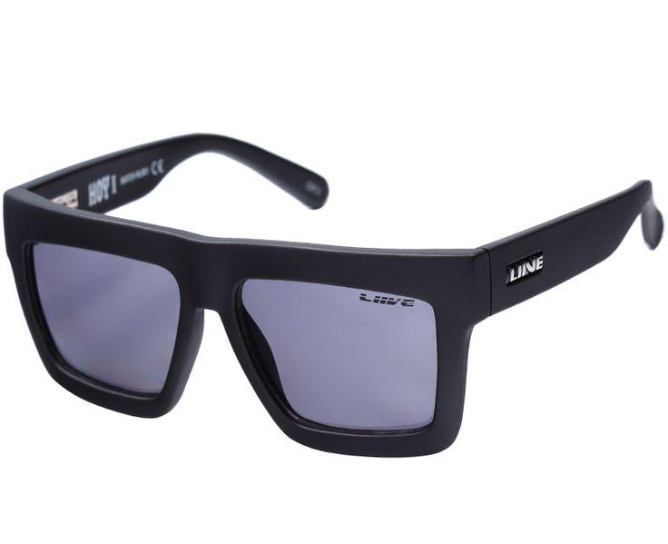 City Beach - Liive Hoy 1 Matte Black Sunglasses, $49.95