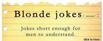 short-funny-blond-jokes: 10 Crazy funny blond jokes that will make you snort when you laugh