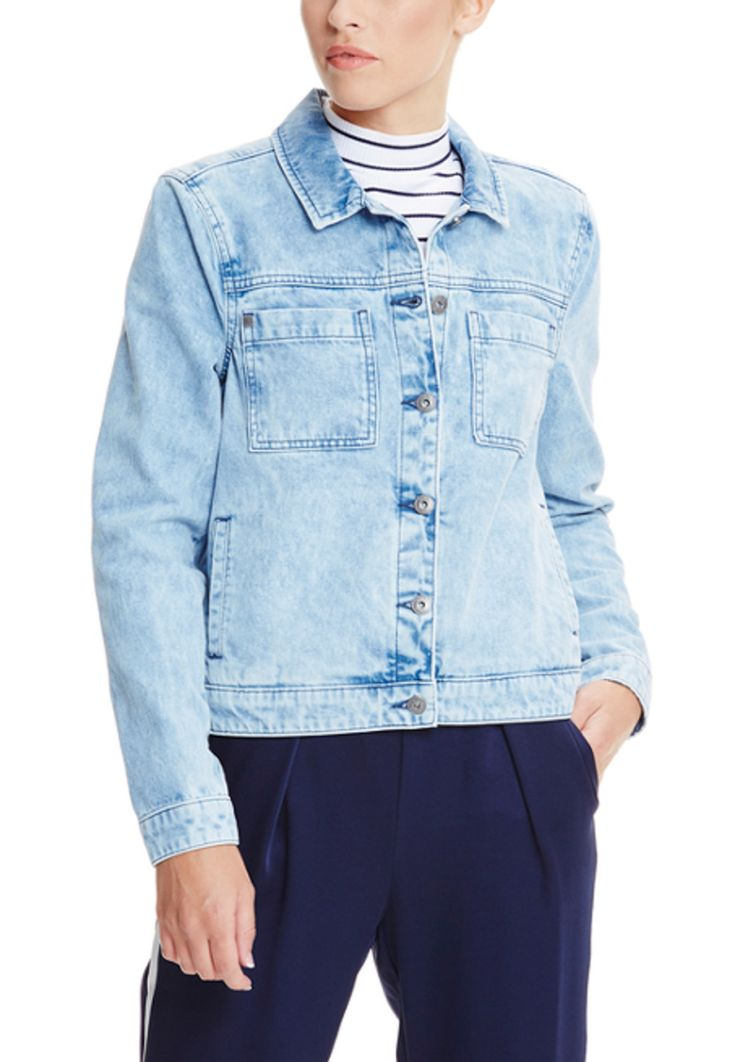 Bench Jeans-Jacke, Umlegekragen, gerader Schnitt blau Jetzt bestellen unter: https://mode.ladendirekt.de/damen/bekleidung/jacken/jeansjacken/?uid=44699f29-985a-592e-b4a9-32bfc0b8765c&utm_source=pinterest&utm_medium=pin&utm_campaign=boards #jeansjacken #bekleidung #jacken Bild Quelle: brands4friends.de