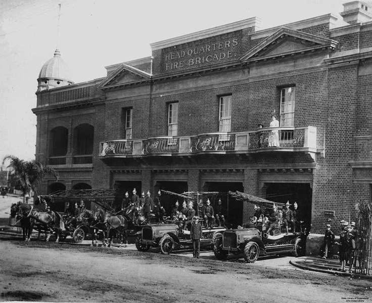 Central Fire Station, Brisbane, Queensland, ca.1900