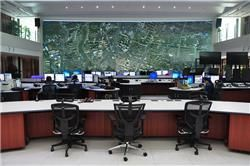 Monitoring Hefei City Traffic Aided by Delta's Display Solutions #Delta