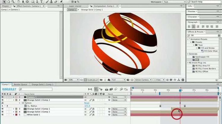 How to make globe radio wave animation in After Effects AND Cinema 4D