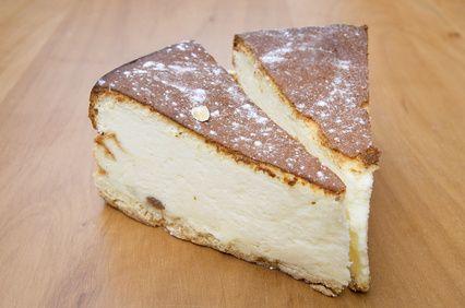 Part tarte au fromage blanc