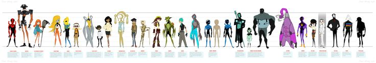 Blue Beetle Animated Villain Sheet +FINAL LINE-UP+ by dou-hong.deviantart.com on @deviantART