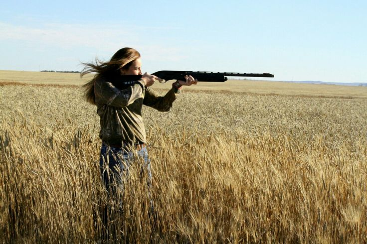 ~Girls Senior Pictures who ❤ to hunt~