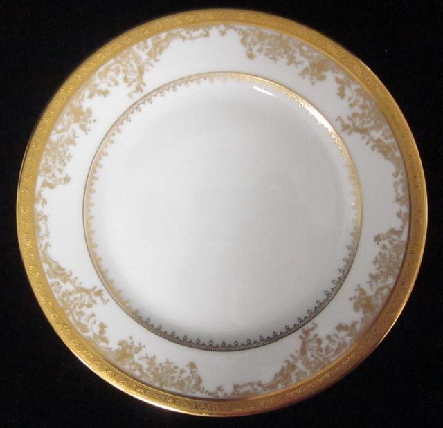 LOT 18 HAVILAND LIMOGES Diplomate White Gold Trim Salad Dessert Bread Plates & 75 best Luscious Limoges images on Pinterest | Limoges china ...