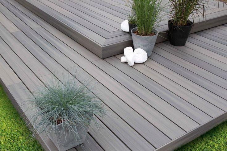 Terrasse bois composite Terranova Xtrem Gris minéral