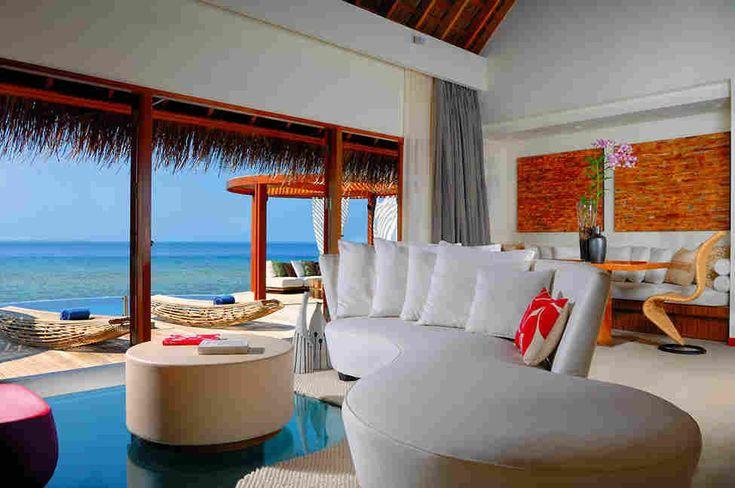 Роскошный отель W Retreat & Spa на Мальдивах