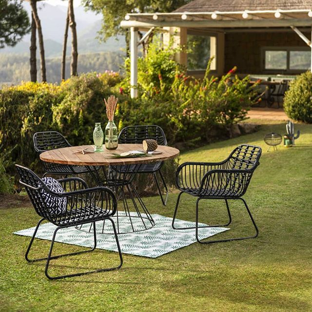 Gifi France Gifi Officiel Photos Et Videos Instagram Table De Jardin Table De Jardin Ronde Exterieur