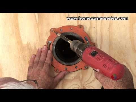 How to Fix a Toilet   Wooden Sub Flooring Flange Repair   Part 1  Bathroom SubfloorBathroom. 78 Best images about Replace Bathroom Subfloor on Pinterest