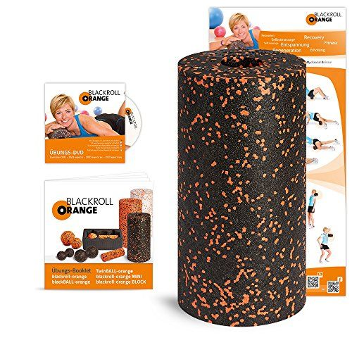 Blackroll Orange (Das Original) – DIE Selbstmassagerolle inkl. Übungs-DVD, Übungsposter & Booklet | Your #1 Source for Sporting Goods & Outdoor Equipment