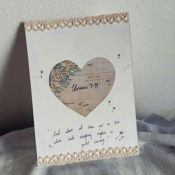 #handmadebykellylip #bibleverse #withheart #birthdaycard