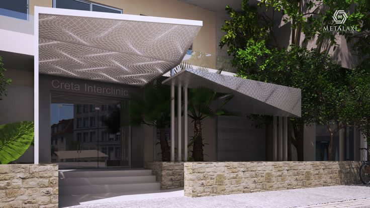 AWNING - ΣΤΕΓΑΣΤΡΟ Perforated Aluminum pergolas and awnings with unique patterns for commercial or residential use. Metalaxi Innovative Architectural Products. www.metalaxi.com Life is in the details.