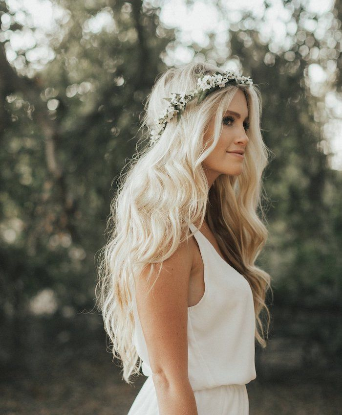 Pin By Archzineeng On Wedding In 2020 Long Hair Wedding Styles Bride Hairstyles Blonde Wedding Hair