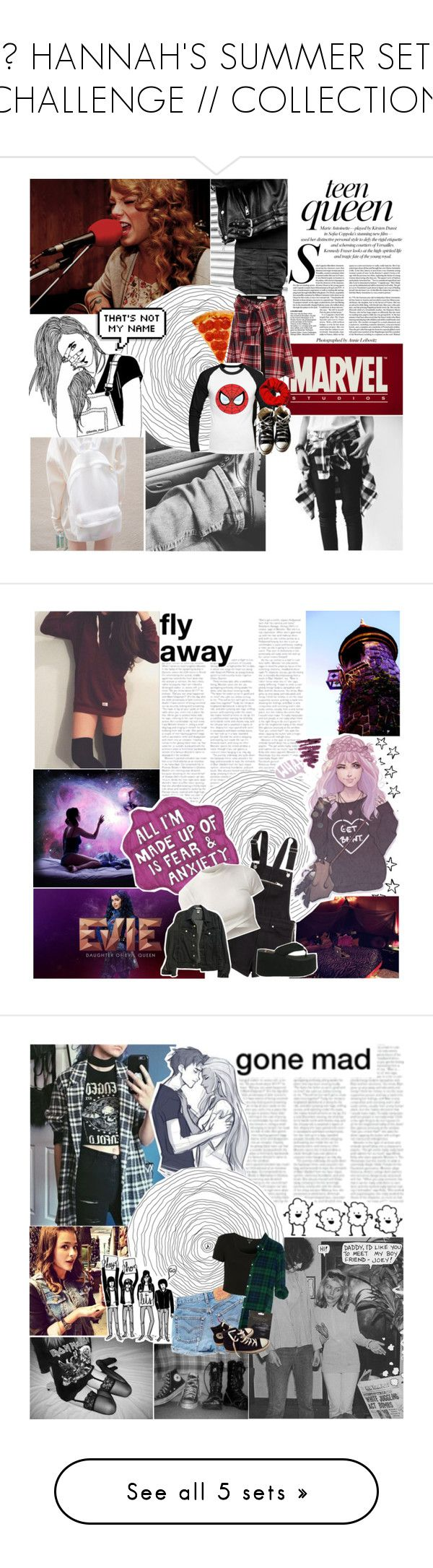 """☮ HANNAH'S SUMMER SET CHALLENGE // COLLECTION"" by frozendecembermoon ❤ liked on Polyvore featuring summersongsets, art, Urbanears, True Religion, Deux Lux, adidas, AT&T, Laura Mercier, Fujifilm and Iscream"